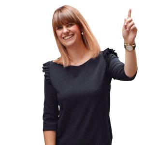 Victoria Schmidt bei K. D. Kaiser Hair Design in  Lüneburg.  Foto: LünePost sst